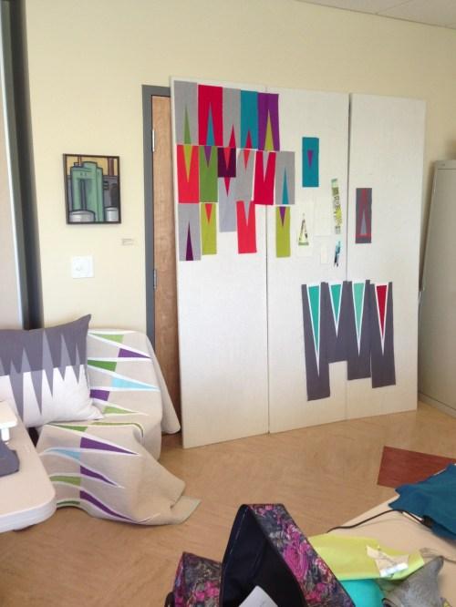 Sewkatiedid/improvisational triangles workshop