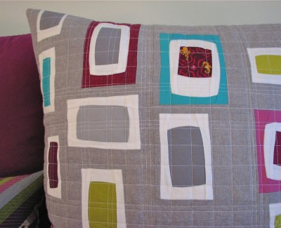 Improv Patchwork Pillow Series