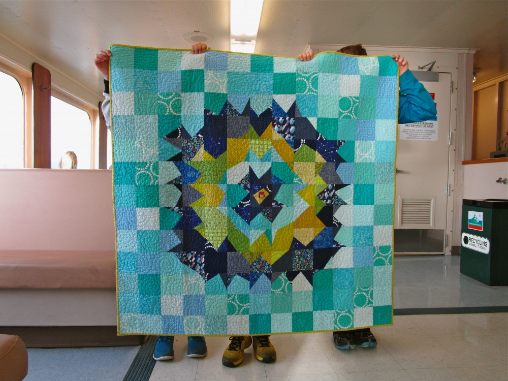 SEW KATIE DID:Night Owl Quilt
