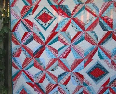 Mod Pinwheel Quilt