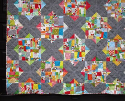 Split Personality Christmas Quilt