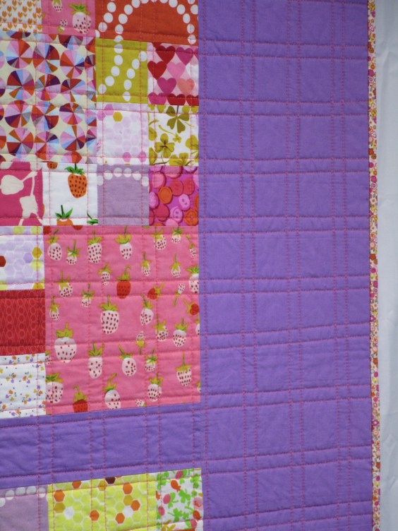 SEW KATIE DID:Garden Plot Quilt side