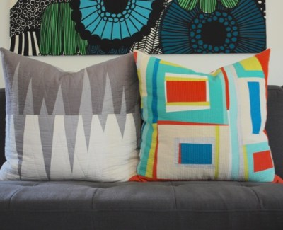 Improv Patchwork Pillows