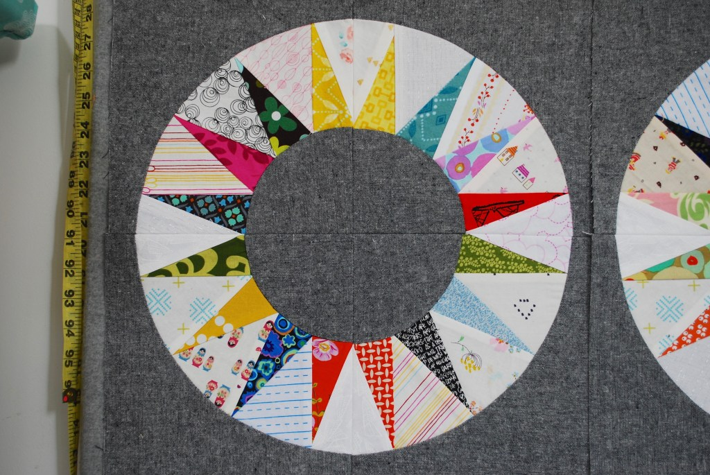 sew katie did | Scrappy NY Beauty Quilt Block
