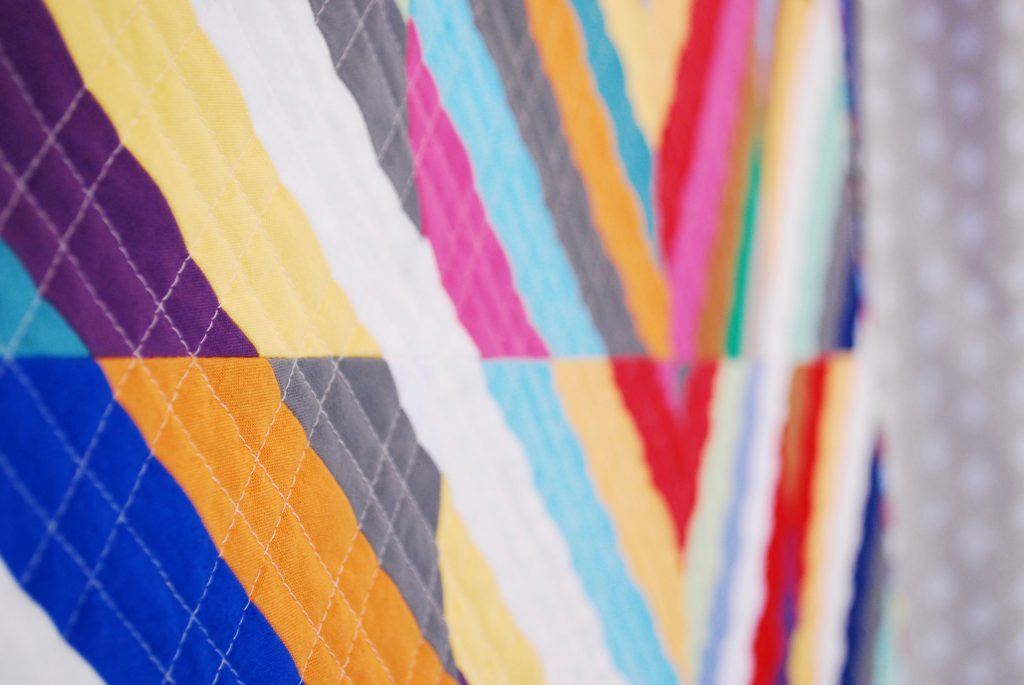 sew katie did | grid quilting