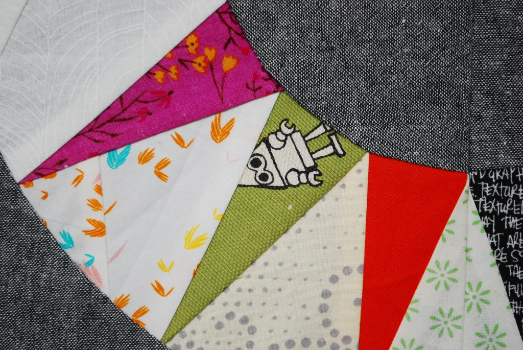 sew katie did   scrappy ny beauty paper pieced quilt block