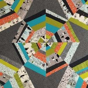 sew katie did | Spiderweb blocks