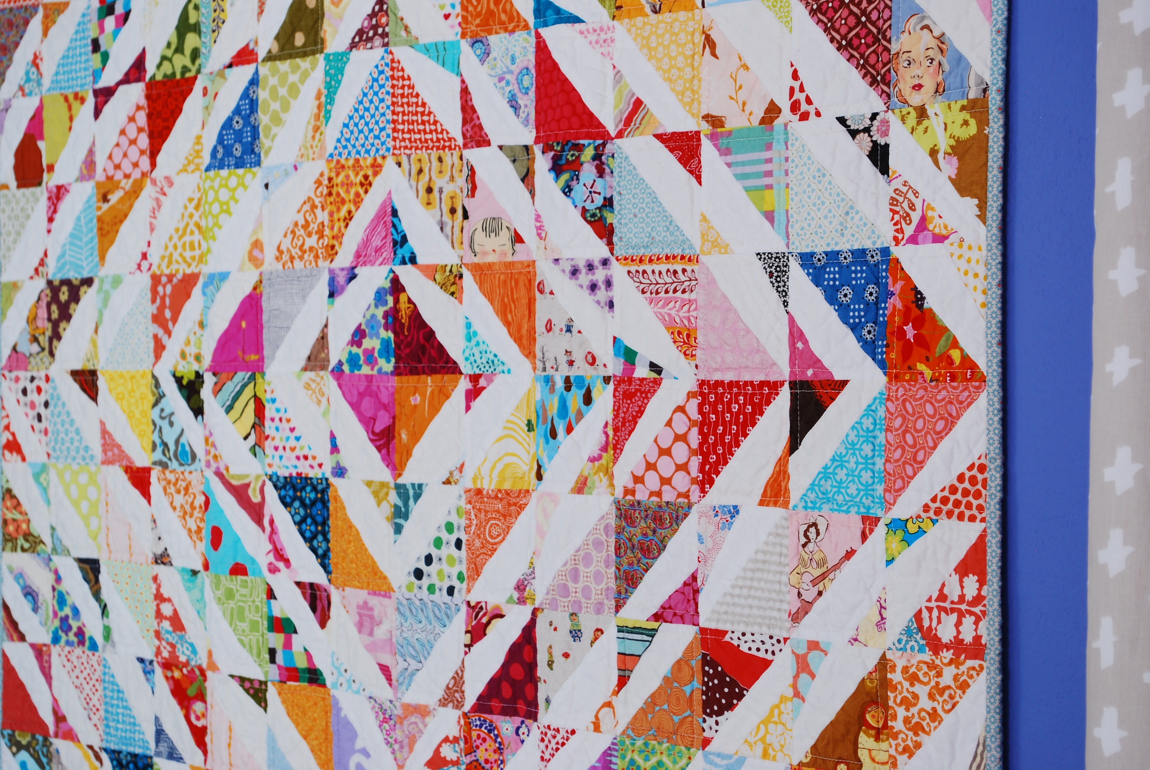 sew katie did | Seattle Modern Quilting Workshops and Sewing Studio | Double-Trouble Quilt