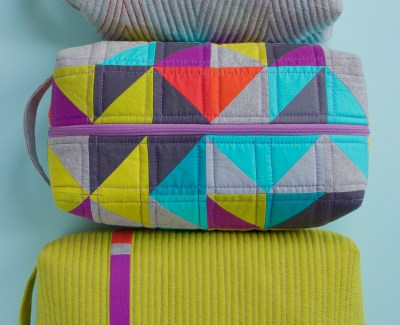 Patchwork Box Pouches