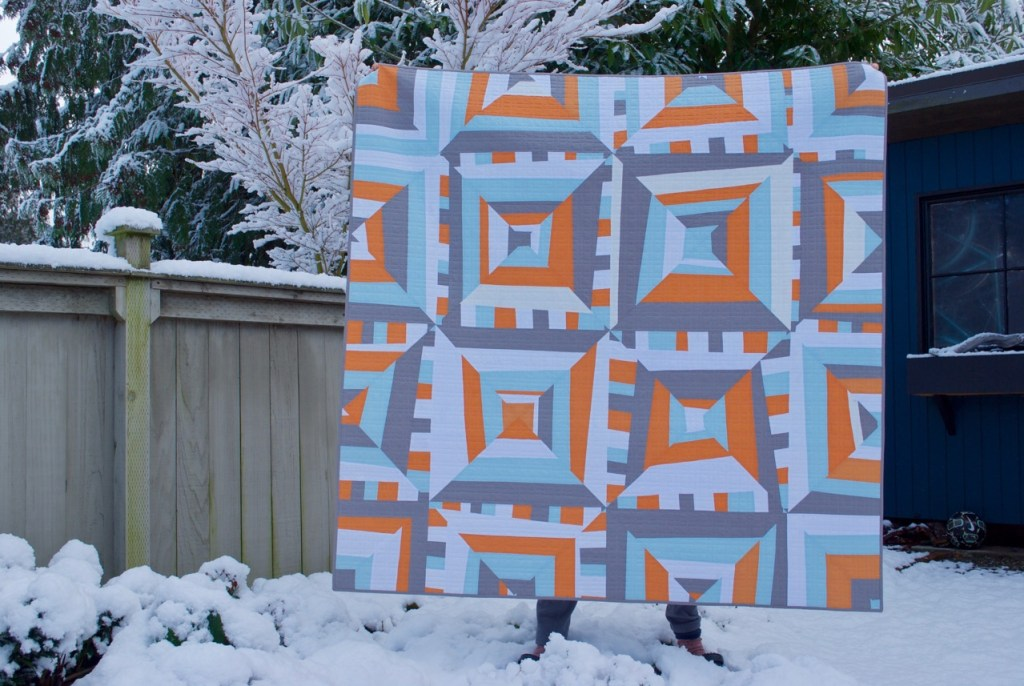 sew katie did | Seattle Modern Quilting and Sewing Studio |  Quilt Back