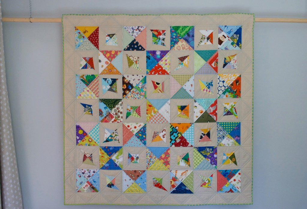 sew katie did | seattle quilting studio | Double-Trouble Toss Up