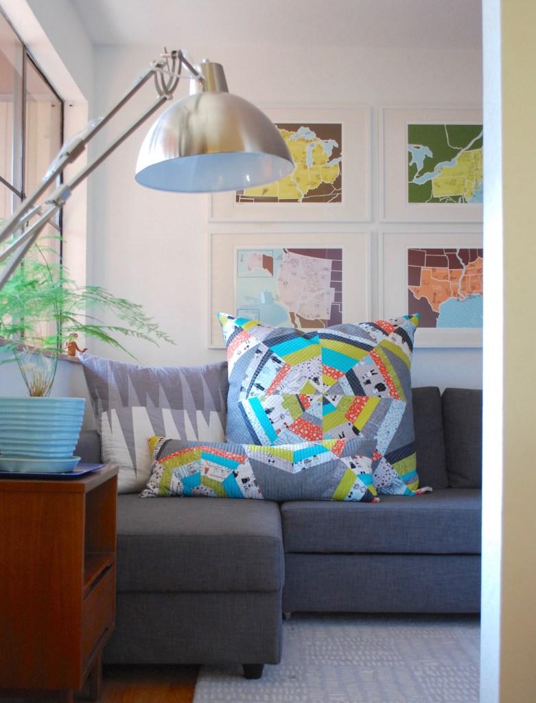 sew katie did | Seattle Modern Quilting & Sewing Studio | Spiderweb Quilt Block