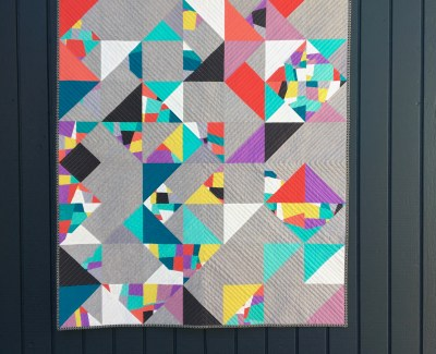 ::  Split Crumbs Quilt Top ::