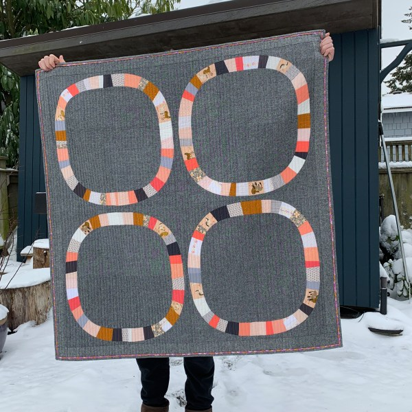 sew katie did | Seattle Modern Sewing & Quilting Studio | Free-Wheeling Girl Quilt