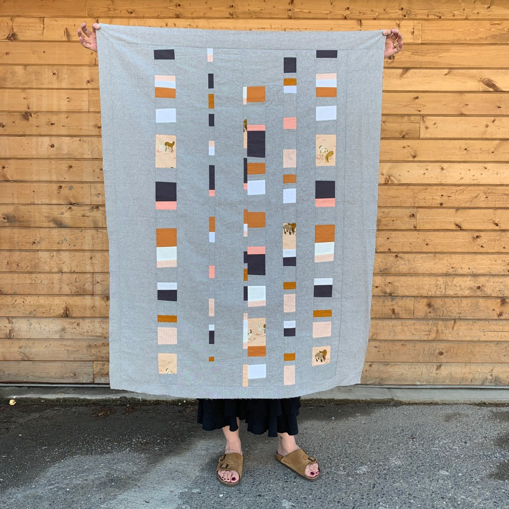 Sew Katie Did | Seattle Modern Quilting & Sewing Studio | Pony Up Quilt