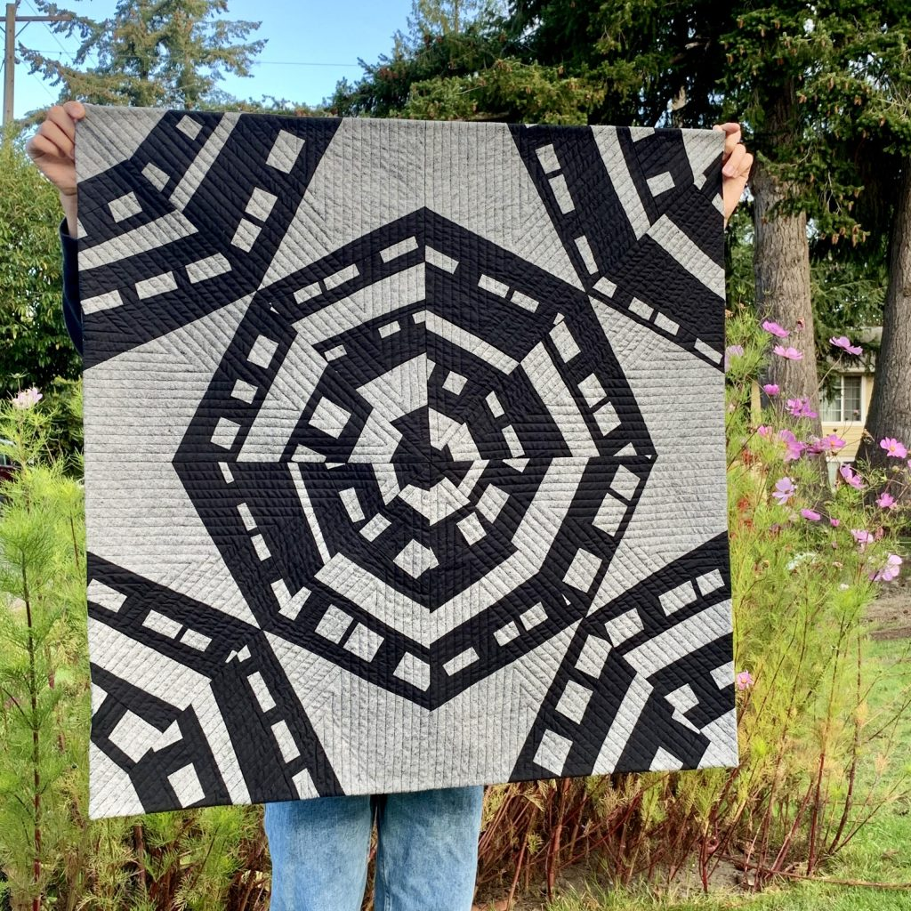 sew Katie did | Seattle Modern Sewing & Quilting Studio | Spinning Webs Quilt