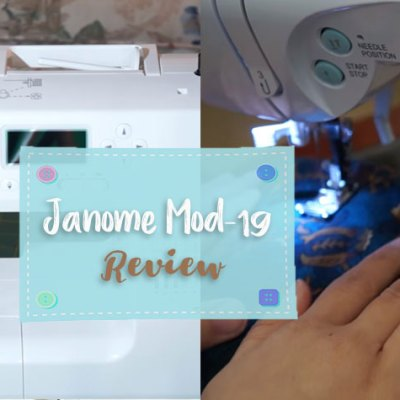 Janome Mod-19 Review | Sensible Choice