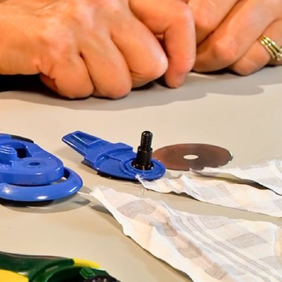 How to Sharpen a Rotary Cutter Blades