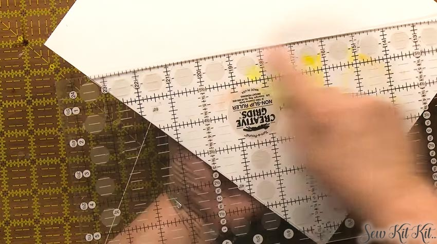 How to Use Quilting Rulers 6
