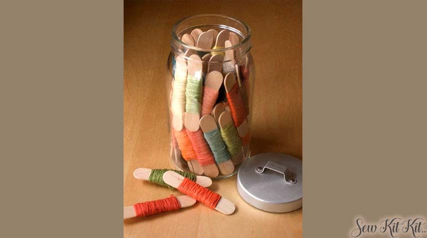 How to store embroidery floss 2