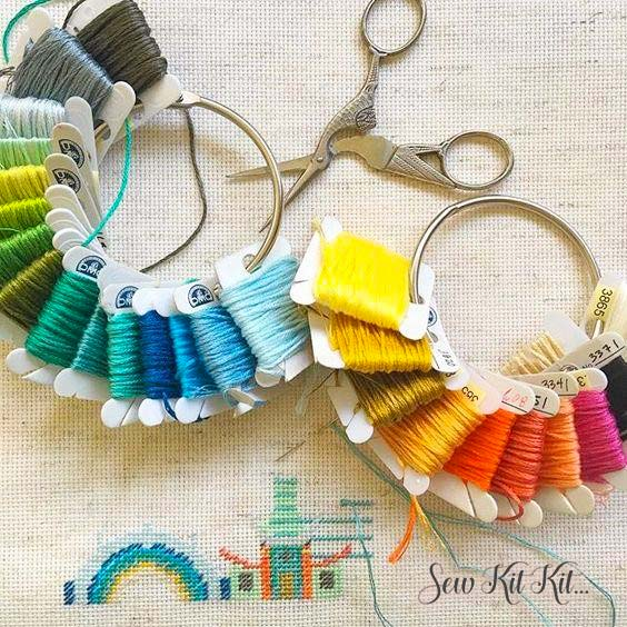 How to store embroidery floss 8