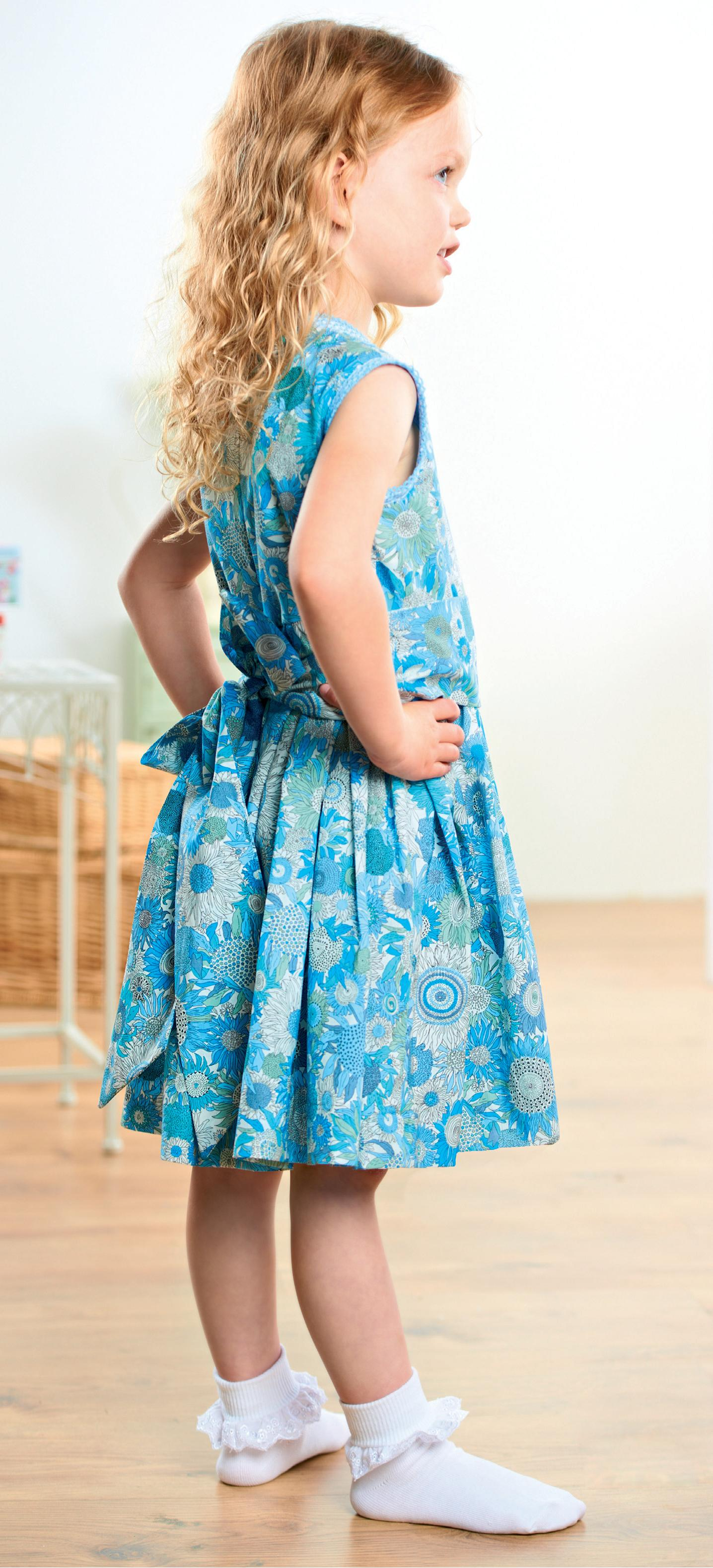 Young Girls Liberty Party Dresses Free Sewing Patterns