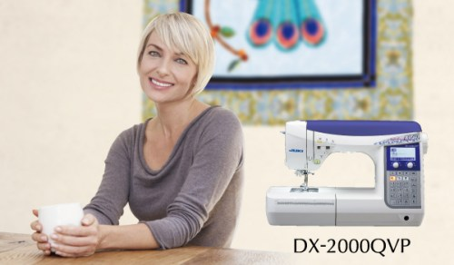DX-2000QVP - enjoy enhanced sewing quality with the fusion of Juki Industrial Sewing Machine Knowledge and Technology