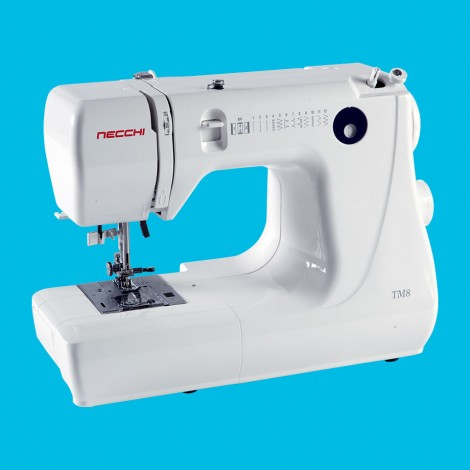 TM8  This 12 pound model functions like a full sized sewing machine.