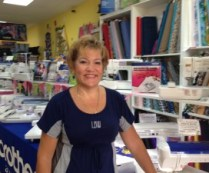 The owner of Sew Much Fun, where South Florida Customers are Number One!