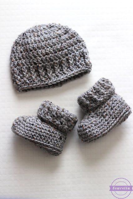 The Parker Crochet Newborn Hat Sewrella