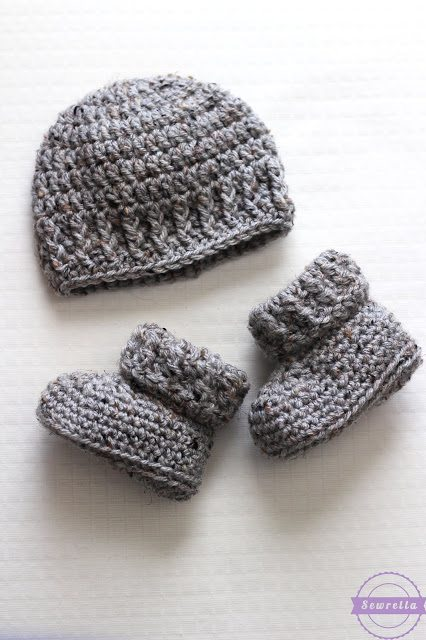 The Parker Crochet Newborn Hat Sewrella