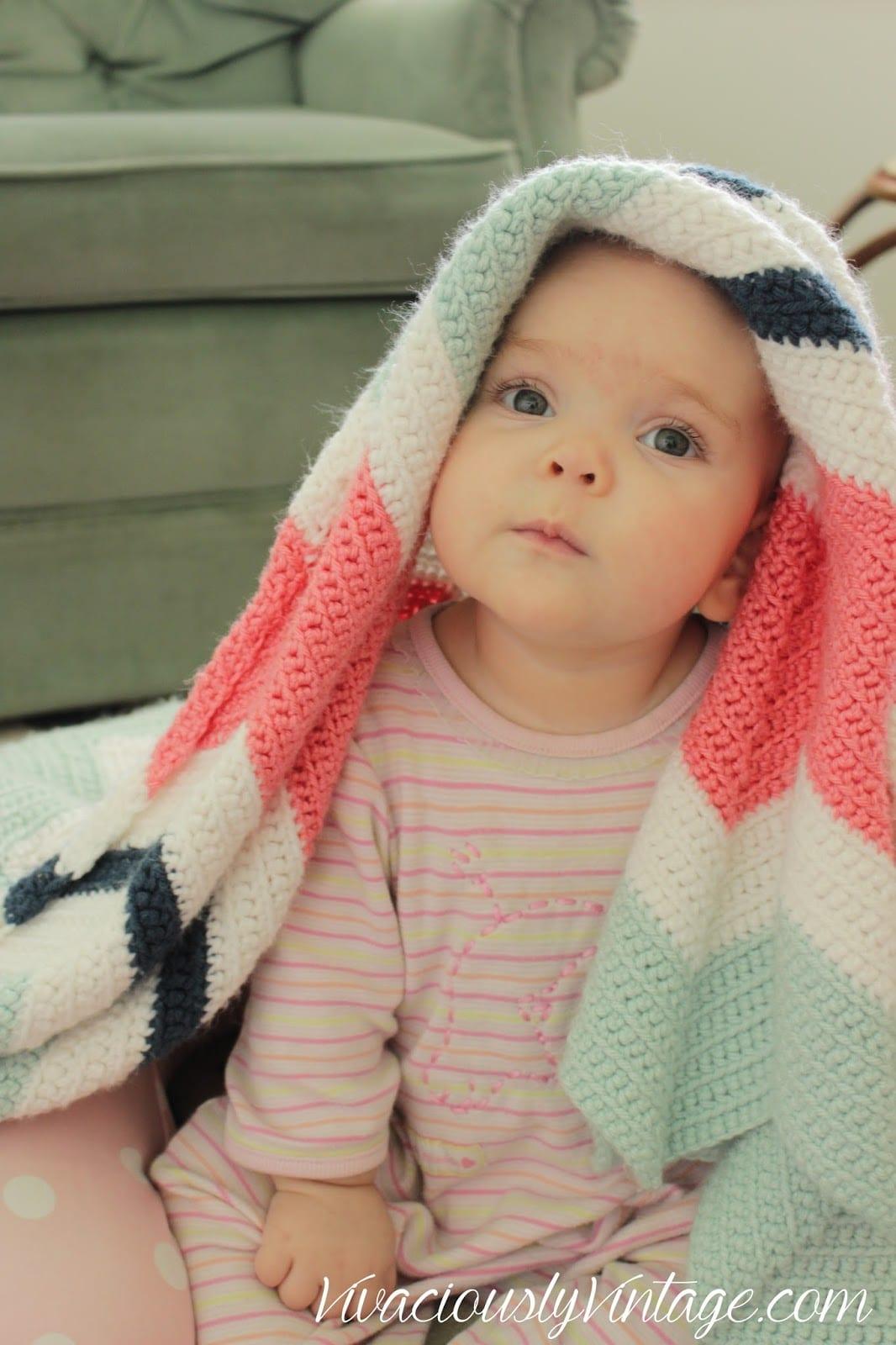 mint-coral-navy-chevron-crochet-blanket-1