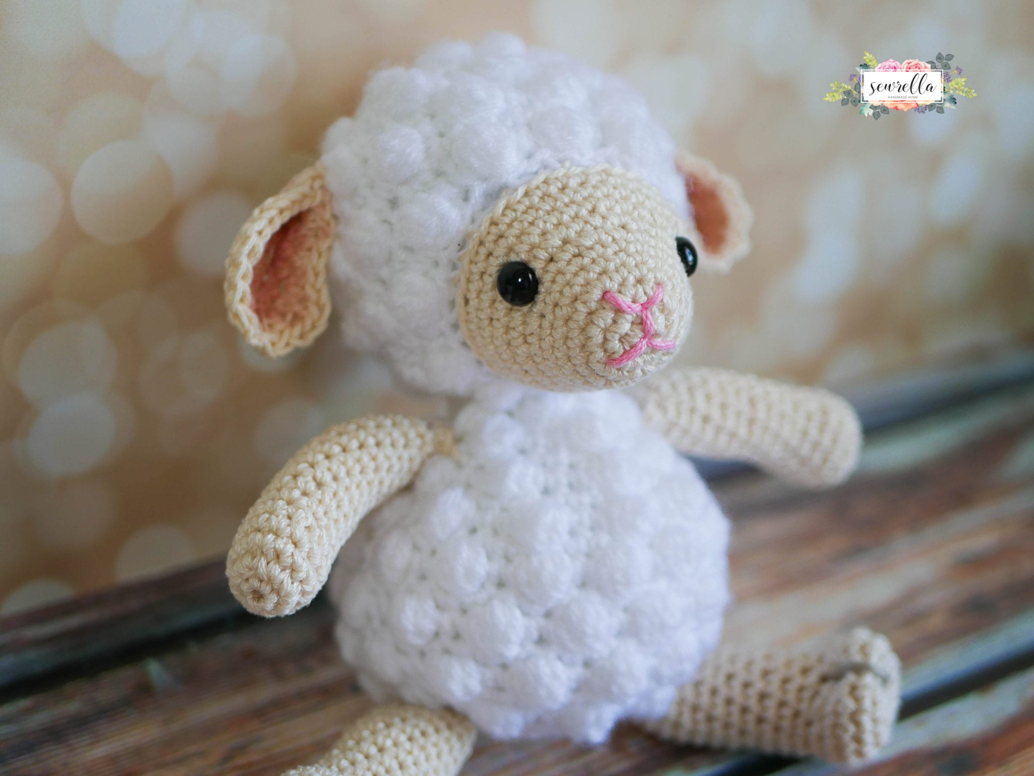 Little Crochet Lamb Sewrella