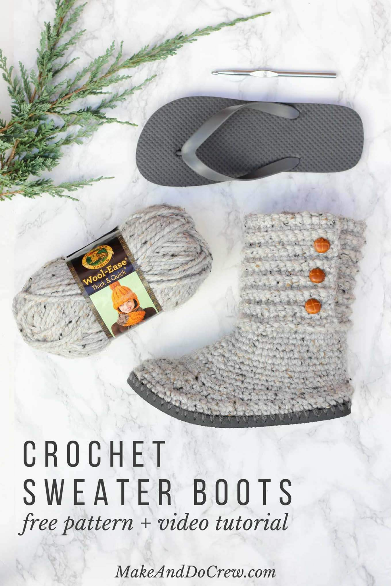 9ca5343c3625e7 7 Crochet Shoes You Need to Make - Sewrella
