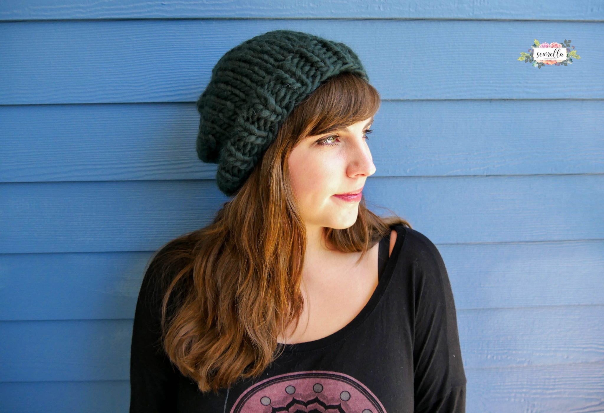 How to knit a basic hat sewrella this is the easiest knit hat pattern youll find bankloansurffo Gallery