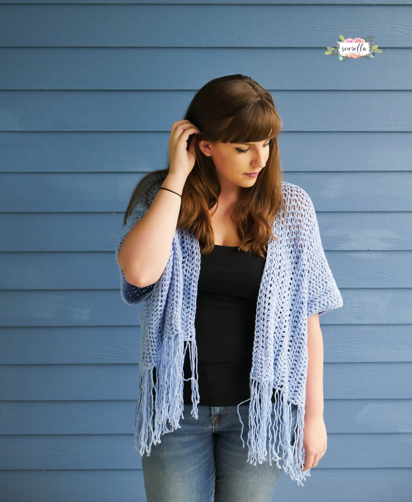 Crochet Lana Kimono Sewrella