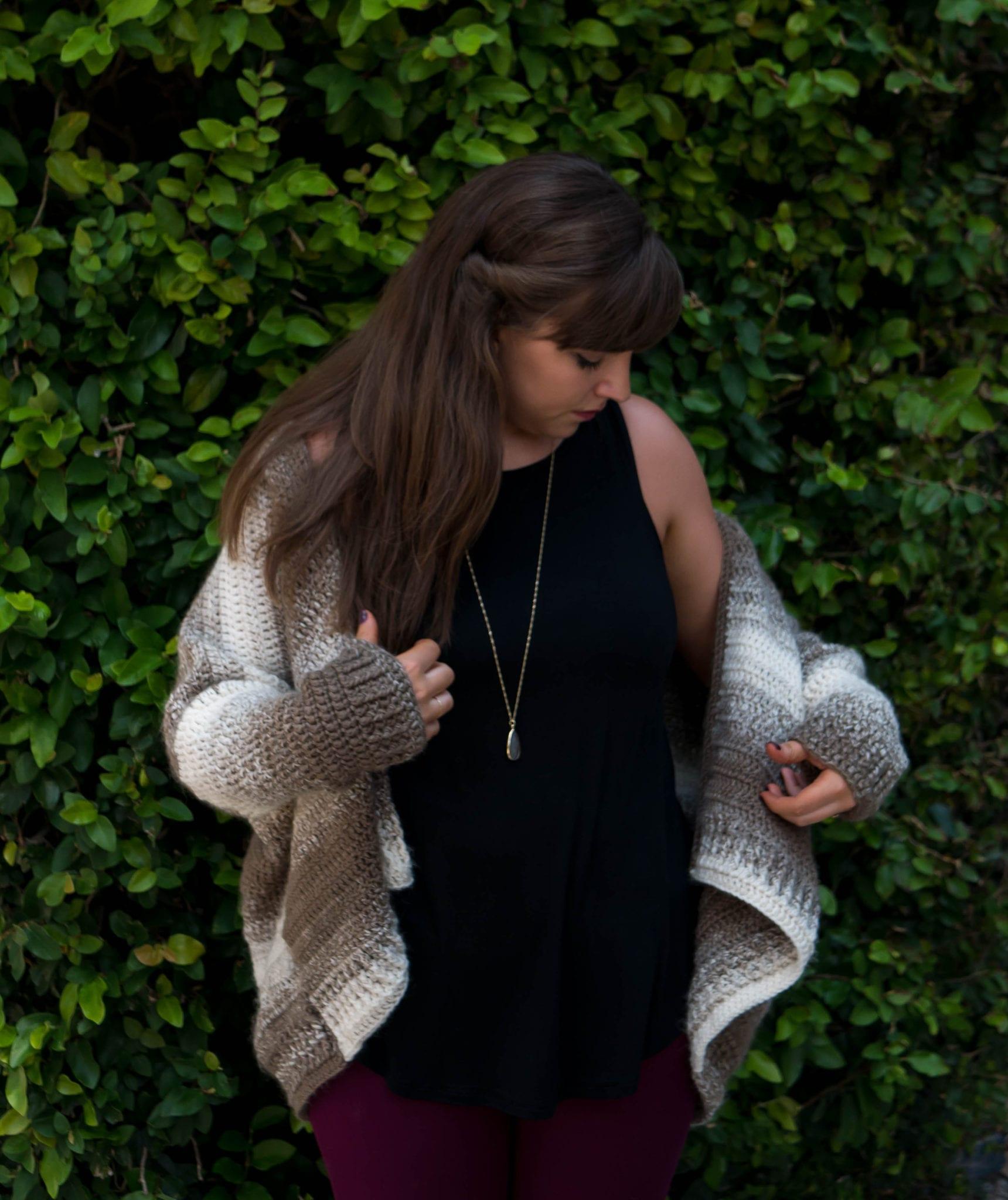138e13a6c Crochet Cappuccino Cardigan - Sewrella