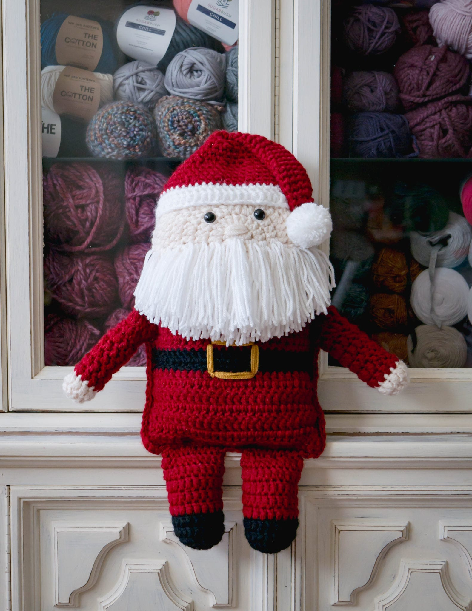 Crochet Santa Claus With Huggies