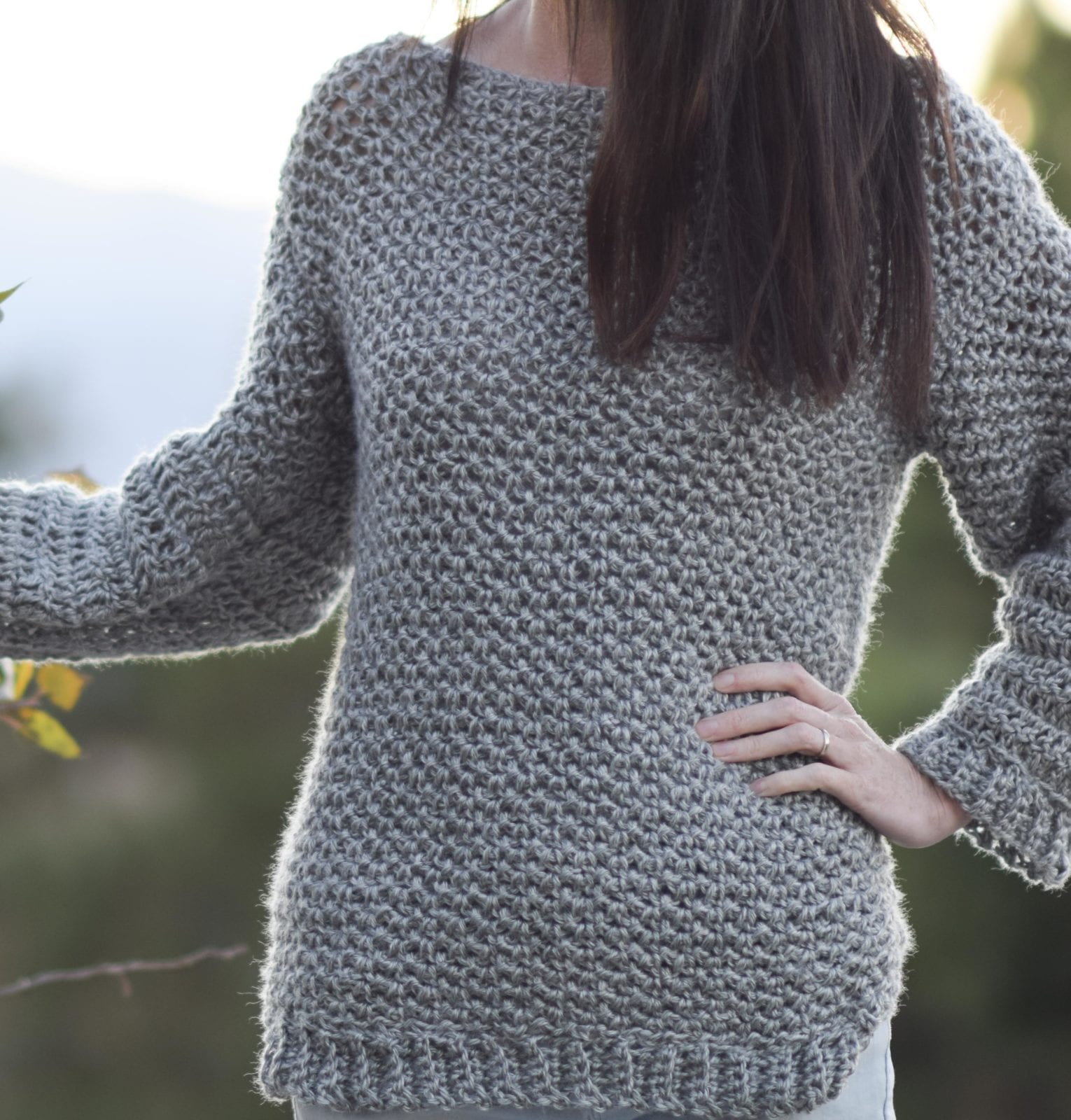 Crochet for cardigan beginners chunky easy free pattern topshop asos