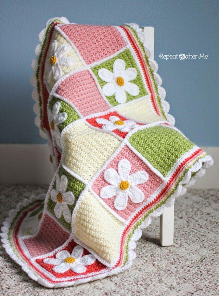 The Best Free Crochet Baby Blankets For Girls Sewrella