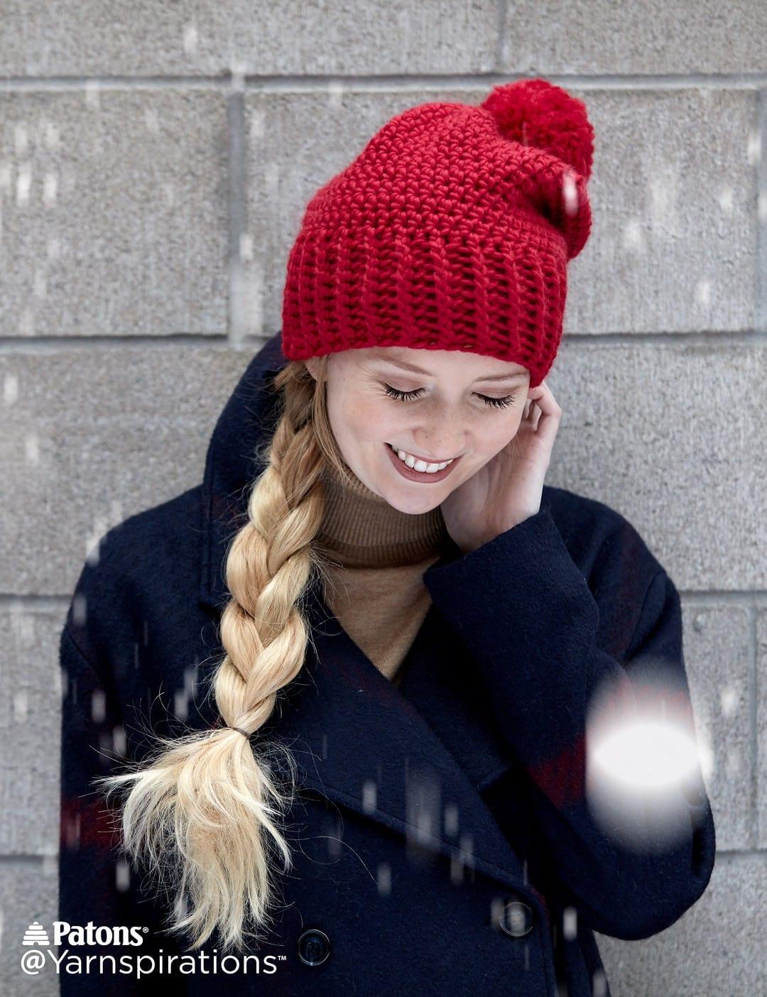 6c450c497 Crochet Hat Patterns that Look Knit - Sewrella