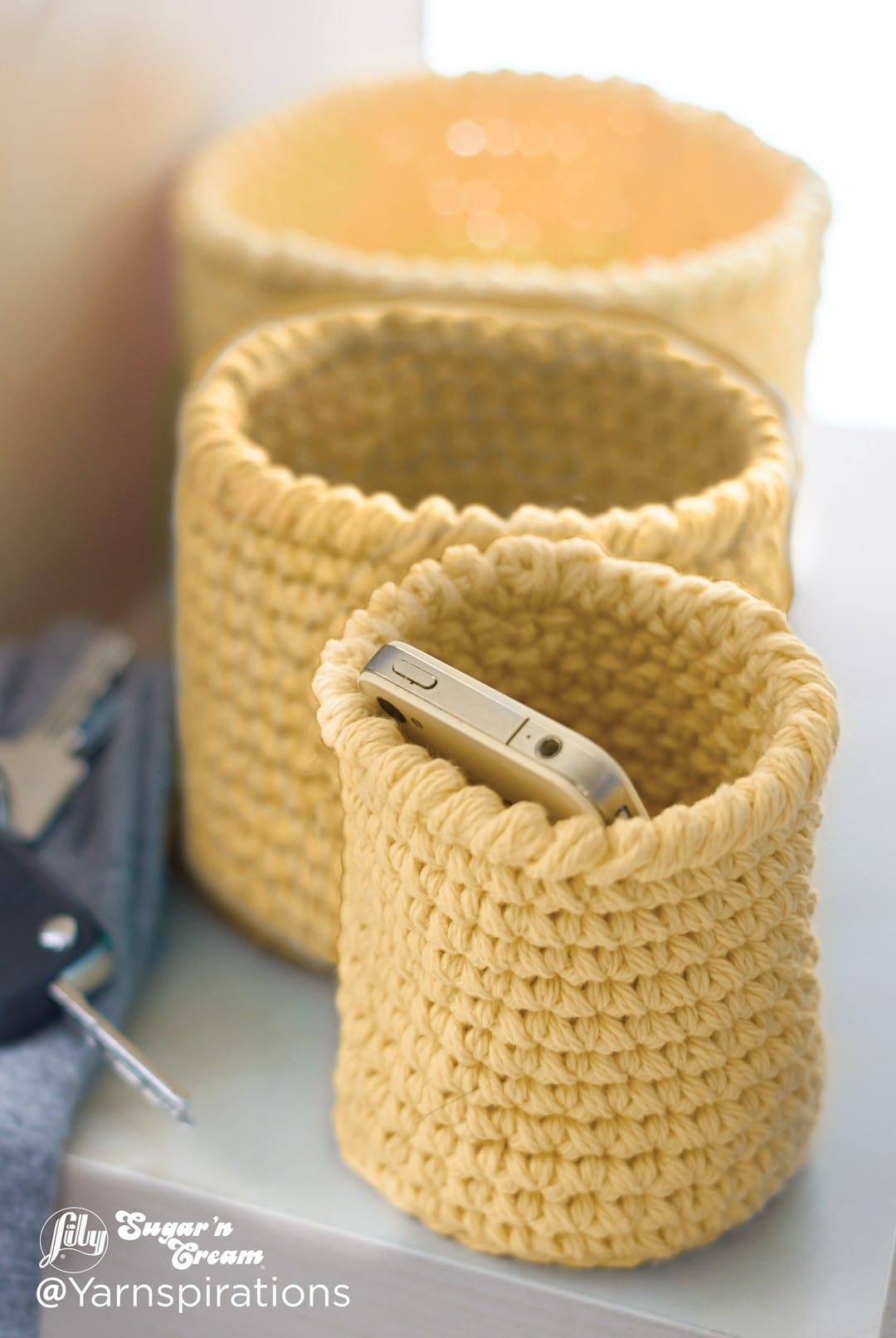 10 Best Crochet Basket Patterns Sewrella