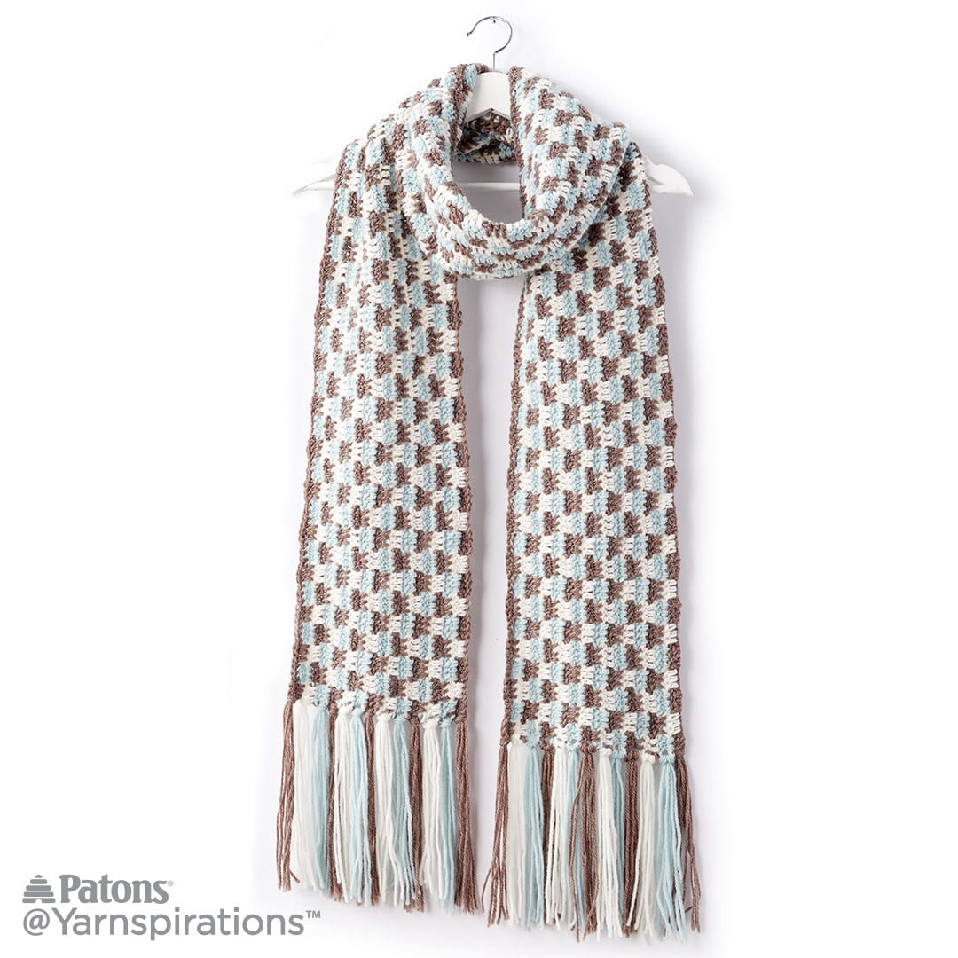 Top 20 Crochet Scarf Patterns - Sewrella