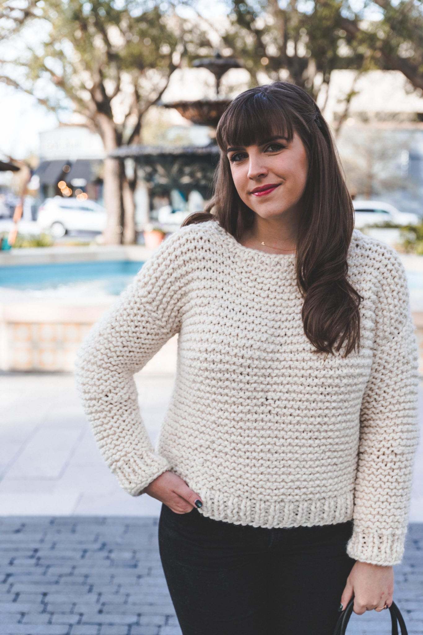 Simple Knit Sweater - Sewrella f7c4cd1c9