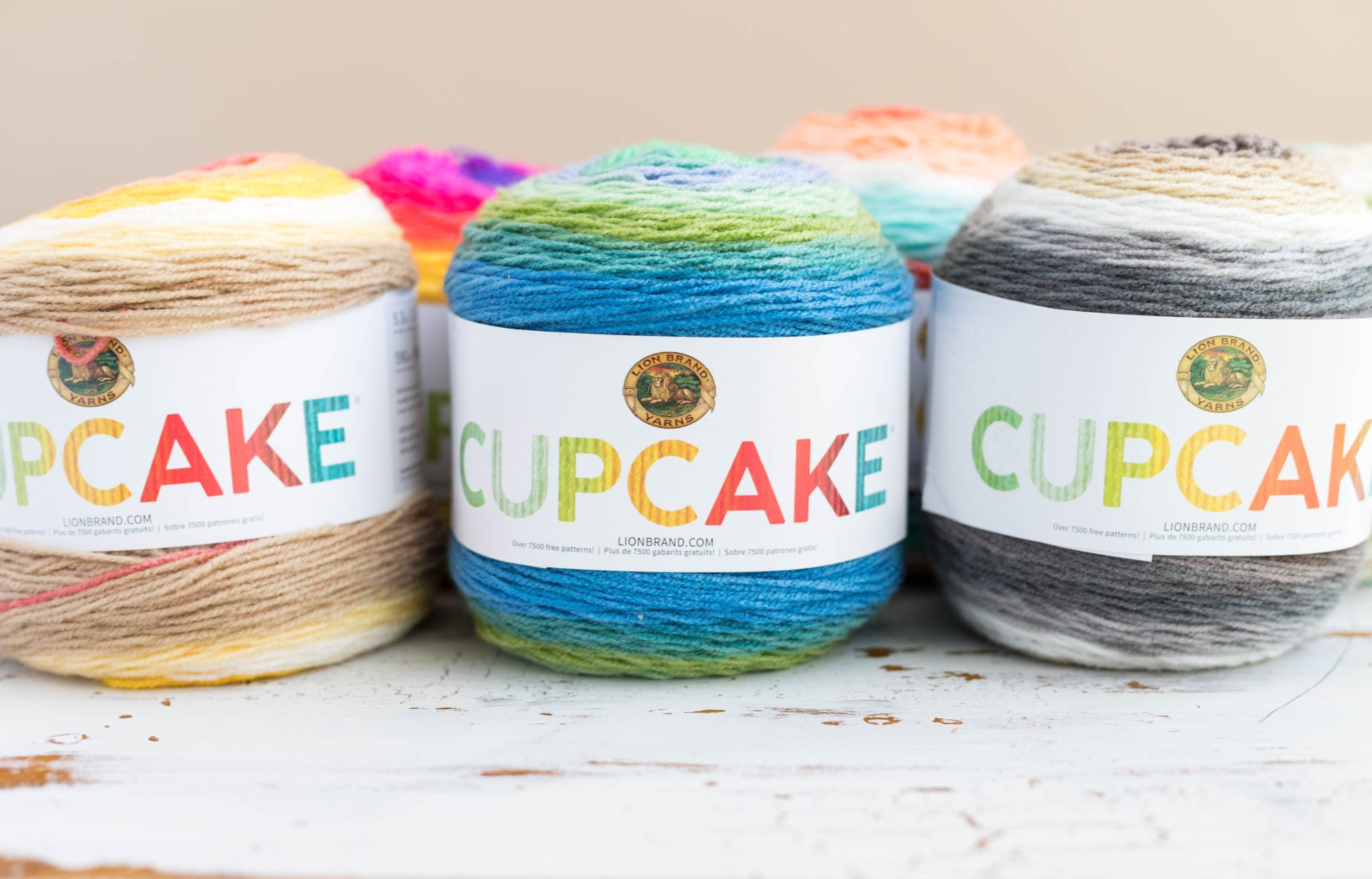 Knit And Crochet Patterns With Lion Brand Cake Yarns Sewrella