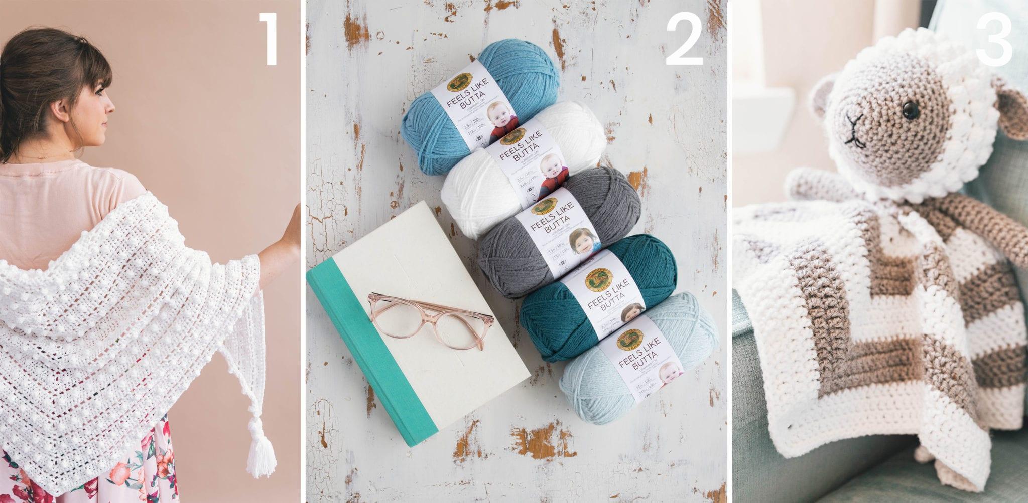 Crochet Snuggle Bunny Baby Lovey - Sewrella