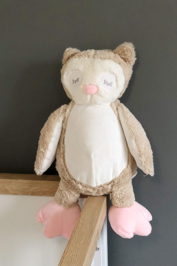 Personalised Olivia The Owl Soft Toy – www.sewsian.com