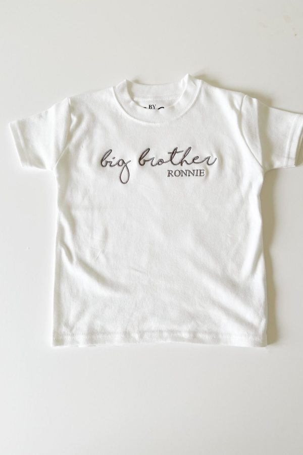 Personalised Brother/Sister T-Shirt – www.sewsian.com