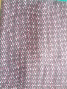 Pink Striped Wool