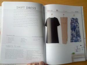 Shift dress from beginner's guide to dressmaking